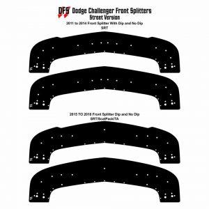 downforce solutions front splitter