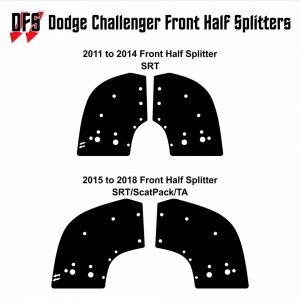 downforce solutions front half splitter