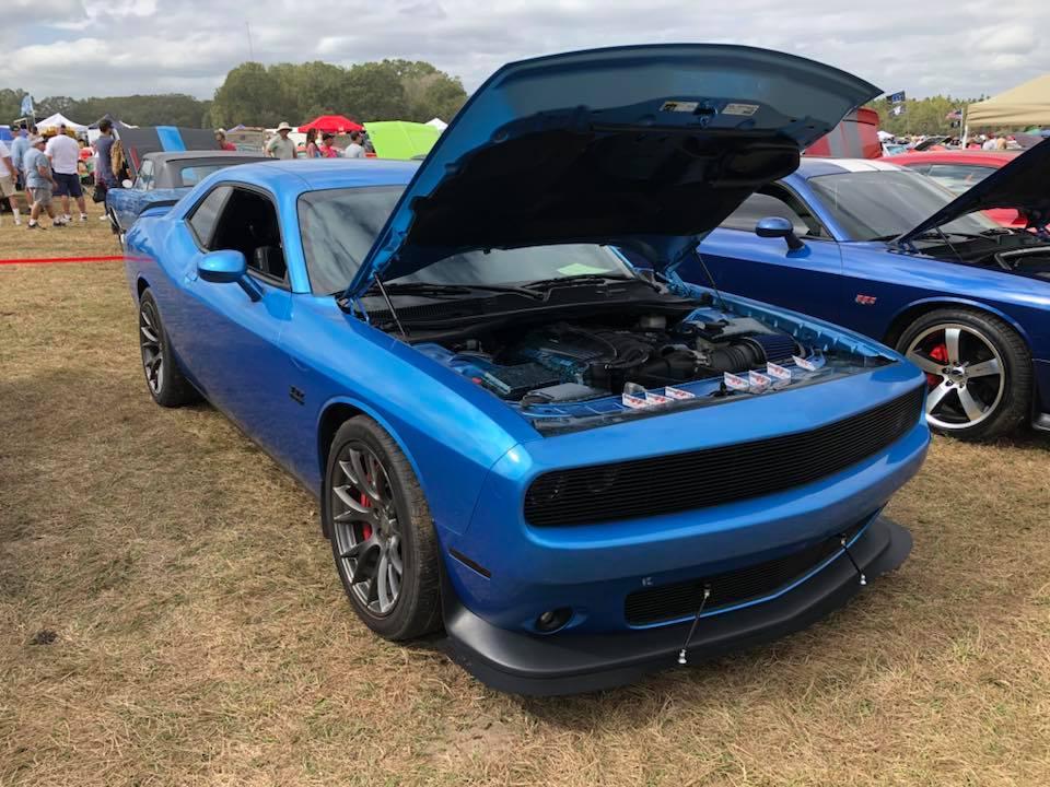 downforce solutions full front splitter blue