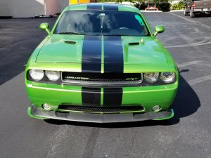 downforce solutions half splitters custom green
