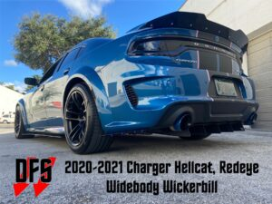 Charger Widebody wickerbill