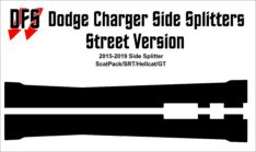 Charger Side Splitters